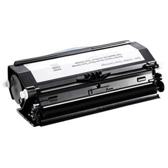Dell originální toner 593-10839, black, 14000str., C233R, return, high capacity, Dell 3330