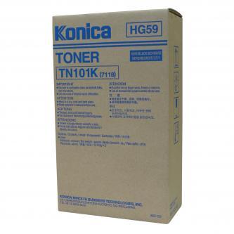 Konica Minolta originální toner 012A, black, 2x11000str., TN101K, Konica Minolta