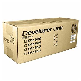 Kyocera originální developer DV-560Y, yellow, 200000str., Kyocera FS-C5350DN,FS-C5350DN/KL3,FS-C5300DN,FS-C5200DN