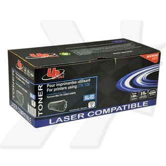 UPrint kompatibilní toner s TK130, black, 7200str., KL-02, pro Kyocera FS-1300D, 1300N, 1350DN, 1028MFP, 1128MFP