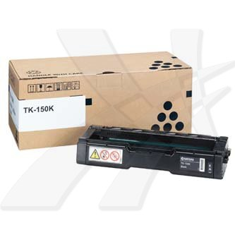 Kyocera Mita originální toner TK150K, black, 4500str., Kyocera Mita FS-C1020MFP