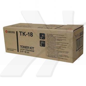 Kyocera originální toner TK18, black, 7200str., 1T02FM0EU0, Kyocera FS-1018MFP, 1118MFP, 1020D