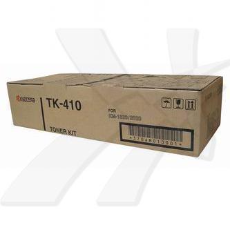 Kyocera originální toner TK410, black, 15000str., 370AM010, Kyocera KM-1620, 1650, 2020, 2050, Olympia omega D1611