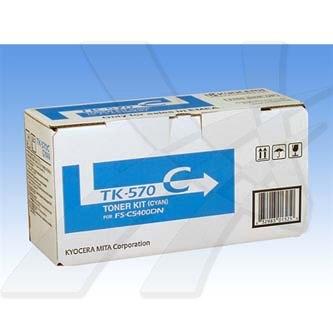 Kyocera Mita originální toner TK570C, cyan, 12000str., Kyocera Mita FS-C 5400DN