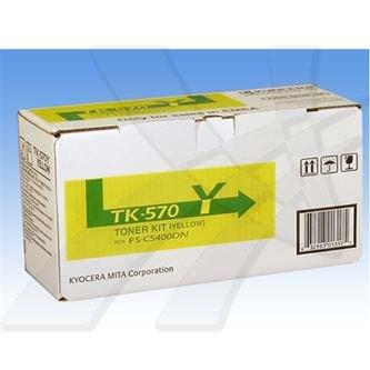 Kyocera Mita originální toner TK570Y, yellow, 12000str., Kyocera Mita FS-C 5400D