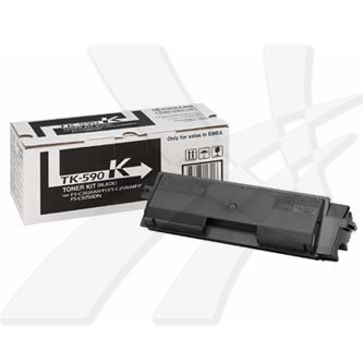 Kyocera Mita originální toner TK590K, black, 7000str., Kyocera Mita FS-C 2026/21