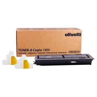 Olivetti originální toner B0839, black, 15000str., TK435, Olivetti D-Copia 1800, 2200MF, O