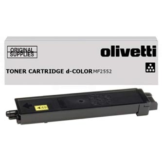 Olivetti originální toner B1068, black, 12000str., Olivetti D-COLOR MF 2552, O