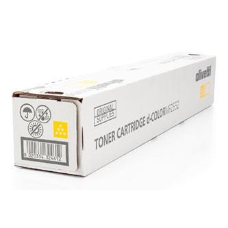 Olivetti originální toner B1067, yellow, 6000str., Olivetti D-COLOR MF 2552, O