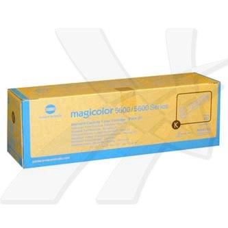 Konica Minolta originální toner A06V153, black, 12000str., Konica Minolta Magicolor 5550, 5570