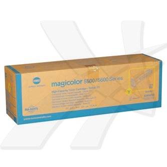 Konica Minolta originální toner A06V253, yellow, 12000str., Konica Minolta Magicolor 5550, 5570