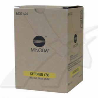 Konica Minolta originální toner 8937424, yellow, 10000str., CF Y3B, Konica Minol
