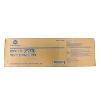 Konica Minolta originální Developer A0XV0KD, DV-311C, cyan, 115000str., Konica Minolta bizhub c220/c280/c360