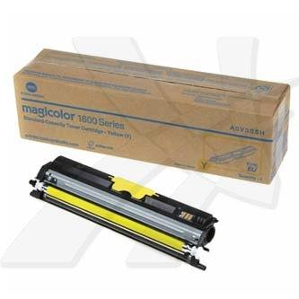 Konica Minolta originální toner A0V305H, yellow, 1500str., Konica Minolta QMS MC