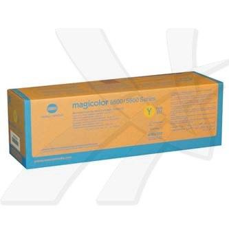 Konica Minolta originální toner A06V252, yellow, 6000str., low capacity, Konica Minolta QMS MC5500, 5550, 5570, 5600, 5650, 5670
