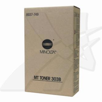 Konica Minolta originální toner 8937749, black, 28000 (2x14000)str., MT303B, Kon