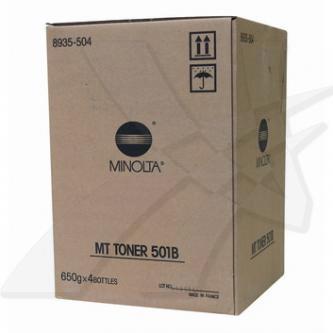 Konica Minolta originální toner 8935504, black, 75000str., MT501B, Konica Minolta EP-4000, 5000, 4x650g