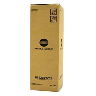 Konica Minolta originální toner 8936904, black, 33000str., MT502B, Konica Minolta Di450, 470, 550