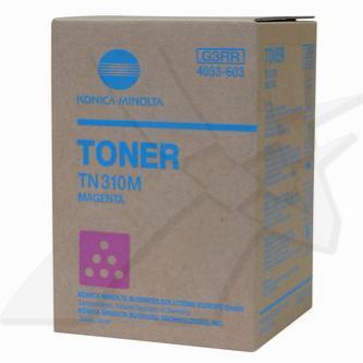 Konica Minolta originální toner TN310M, magenta, 11500str., 4053-603, Konica Minolta Bizhub C350/C351/C450