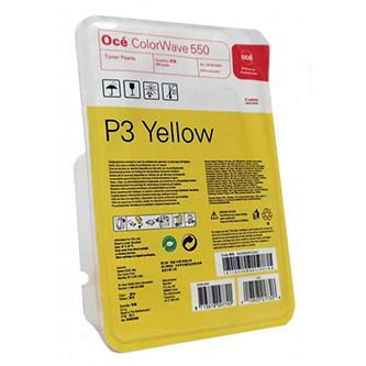 Oce originální toner 1070010451, P3, yellow, Oce CW 550, 500g, O