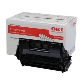 OKI originální toner 1279001, black, 15000str., OKI B710, 720, 730