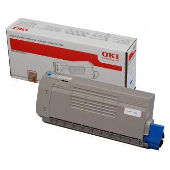OKI originální toner 44318607, cyan, 11500str., OKI C710, C711