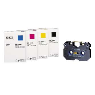 OKI originální toner 41067603, yellow, OKI DP-5000