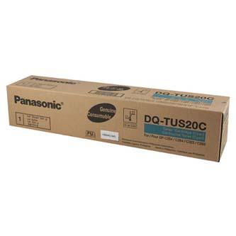 Panasonic originální toner DQ-TUS20C, cyan, 20000str., Panasonic DP-C264, DP-C322