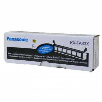 Panasonic originální toner KX-FA83X, black, 2500str., Panasonic KX-FL511,513,611,613, O