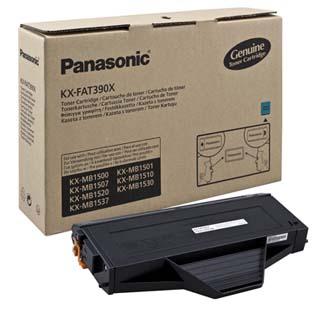 Panasonic originální toner KX-FAT390X, black, 1500str., Panasonic KX-MB1500,1507,1520,1530,1550, O