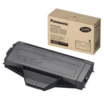 Panasonic originální toner KX-FAT410E/X, black, 2500str., Panasonic KX-MB1500,1520,1530