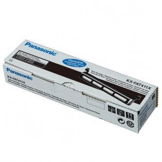 Panasonic originální toner KX-FAT411X, black, 2000str., Panasonic KX-MB2000, 2010, 2025, 2030, 2061, O