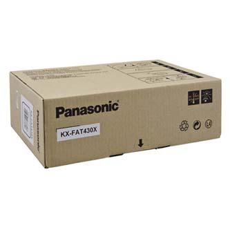 Panasonic originální toner KX-FAT430X, black, 3000str., Panasonic KX-MB 2230, O