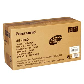 Panasonic originální toner UG-3380, black, 8000str., Panasonic UF-580, 585, 590, 595, 5100, 5300