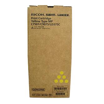 Ricoh originální toner 841364, yellow, Ricoh Aficio MPC6501SP, 7501SP