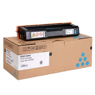 Ricoh originální toner 406349, cyan, 2500str., low capacity, Ricoh SP C310, C311