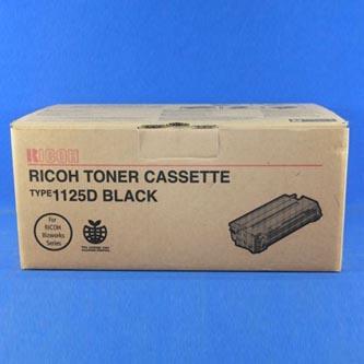 Ricoh originální toner 401129, black, 4000str., Typ 1125D, Ricoh Bizwork 106, 406, 406DF, 180g