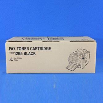 Ricoh originální toner 412638, black, 4300str., Typ 1265D, Ricoh Laserfax 1120L,