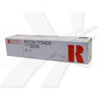 Ricoh originální toner 889776, black, 3000str., Typ 2200, Ricoh FT-2012, 2212, 2712, 91g