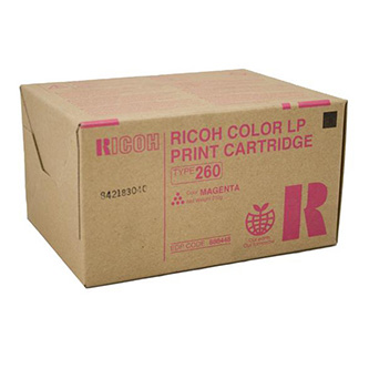 Ricoh originální toner 888448, magenta, 10000str., Typ 260, Ricoh Aficio CL 7200