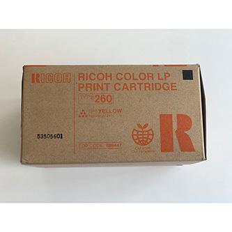 Ricoh originální toner 888447, yellow, 10000str., Typ 260, Ricoh Aficio CL 7200,