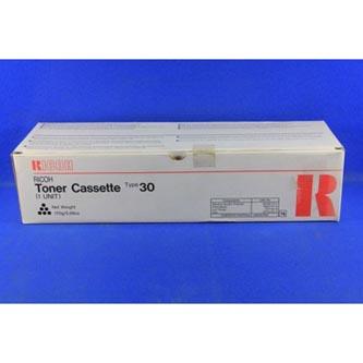 Ricoh originální toner 885430, black, 4500str., Typ 30, Ricoh Laserfax 3000, 250
