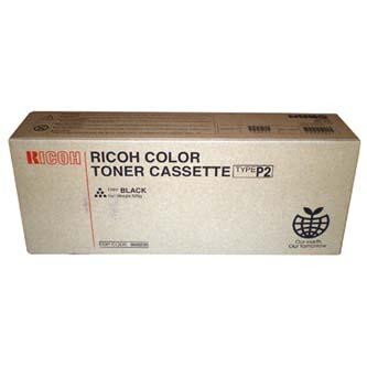 Ricoh originální toner 885482, 888235, black, 19000str., Typ P2, Ricoh Aficio 2232C, 2238C, 525g