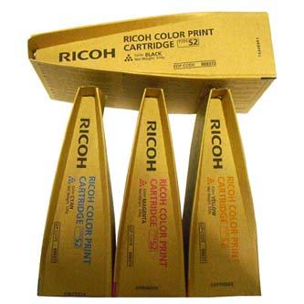 Ricoh originální toner 888372, black, 36000str., Tyyp S2, Ricoh Aficio 3260C, 55