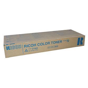 Ricoh originální toner 888486, cyan, 17000str., Typ T2, Ricoh Aficio 3224C, 3232