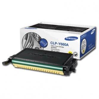 Samsung toner bar CLP-Y660A pro CLP-660 yellow - 2000str.