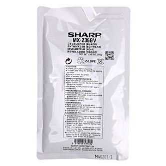 Sharp originální developer MX-235GV, black, 50000str., Sharp MX 2300