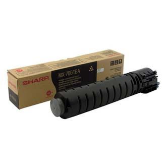 Sharp originální toner MX-70GTBA, black, 42000str., Sharp MX-5500N, 6200N, 7000N