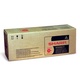 Sharp originální toner MX-B20GT1, black, 8000str., Sharp MX-B200