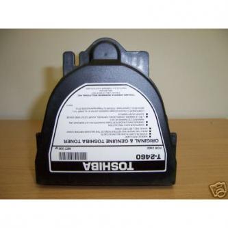 Toshiba originální toner T2460E, black, Toshiba 2460, 2570, 300g, O